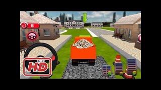 Kids 3D train cartoon games construck railway - Train line construction - Cars and train video
