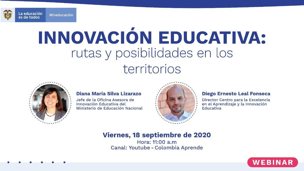 Innovación educativa: rutas y posibilidades en los territorios