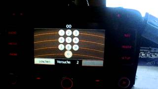 How to decode VW Radio Code RNS 300 310 315 510 RCD 200