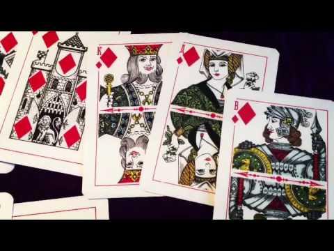 Сочетания игральных карт. Масть бубен.