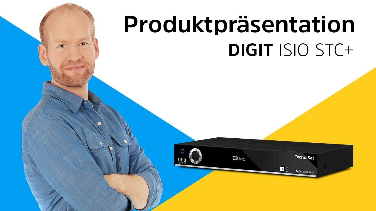 Video: DIGIT ISIO STC + | Smarter UHD/4K-Receiver mit dreifachem TwinTuner und integriertem HD+ | TechniSat