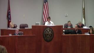 Coffee County TN Commission Meeting 01-10-2017