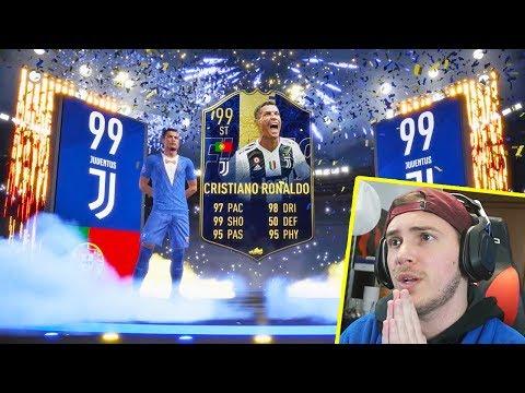 300€ X RONALDO TOTY!! - 'LA GUERRA DEI TOTY' - TOTY PACK OPENING FIFA 19