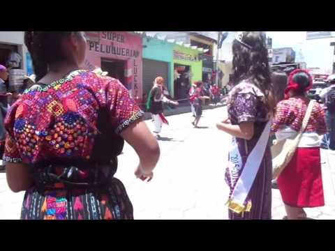 Baile regional del Instituto Privado Mixto Joyabaj
