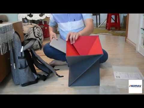 Mở hộp Bàn laptop đa năng gấp gọn, chống nước Levit 8