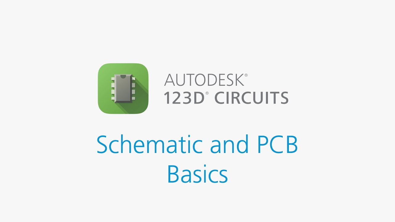 Autodesk Circuits Pcb Design Schematic And Basics Youtube Best Sell Circuit Diagram Board Buy