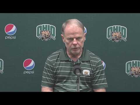Ohio Football 2017: Frank Solich Press Conference 9/4