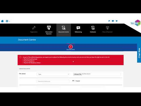 Demo Video for teclet