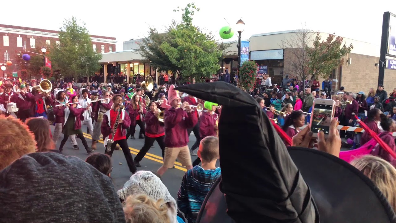 nyack high school red storm marching band - youtube