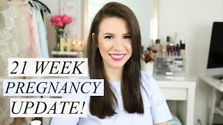 21 Week Pregnancy Update: Gender, Weight Gain, Moving!? | hayleypaige