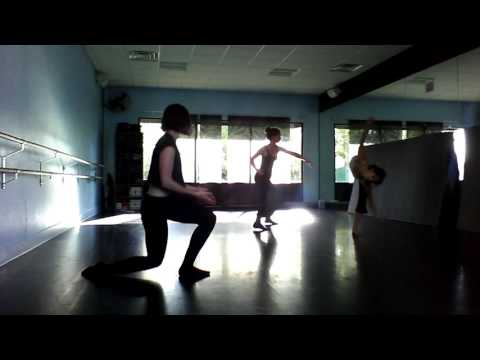 Improvisation for choreography - dance film in Austin TX
