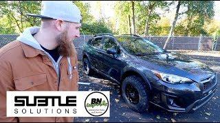 Lifted My 2018 Subaru Crosstrek! | Subtle Solutions