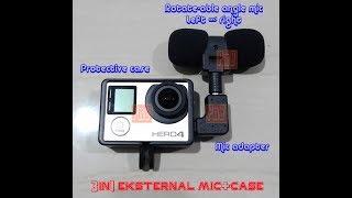 Review Eksternal Mic GoPro Hero 3 3+ 4 (Mic L & Boya)