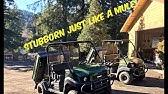 Kawasaki mule idle issues - YouTube