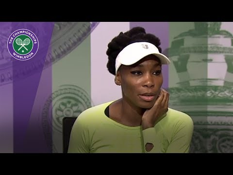 Venus Williams Wimbledon 2017 final press conference