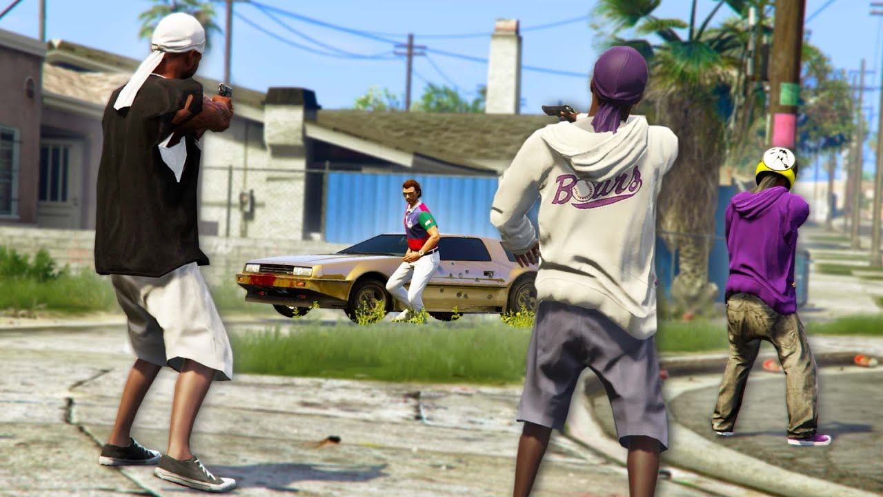 Dropping People Off In THE MOST DANGEROUS AREAS!   GTA 5 THUG LIFE #458