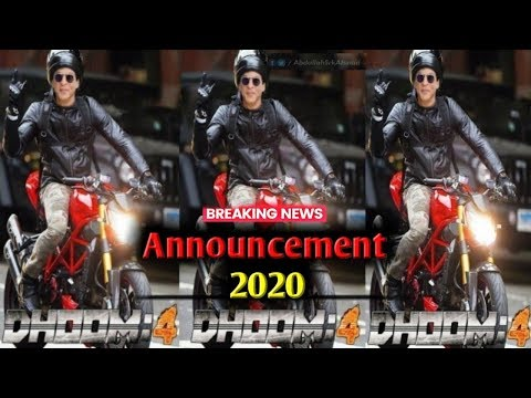 Dhoom 4 का Official Announcement Date and Star cast  | SRK | Mp3