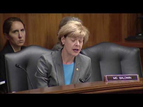 U.S. Senator Tammy Baldwin Presses FDA Secretary on Action for our Dairy Farmers