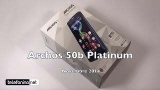 Archos 50b Platinum la recensione di Telefonino.net