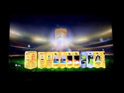 FIFA 15 pack opening w/Diabaté