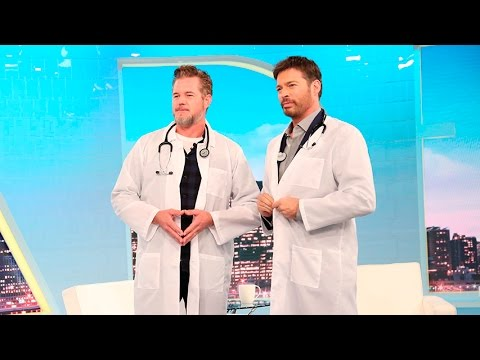 Eric Dane and Harry Make Medical Terms Sexy!