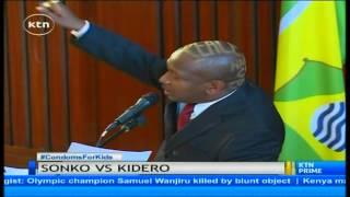 "Nairobi senator Mike Mbuvi ""Sonko"" accuse governor Evans Kidero of nepotism"