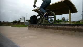 BMX Feeble - crank flip