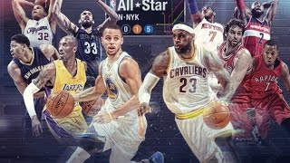 NBA 2015 All-Star Starters Mix