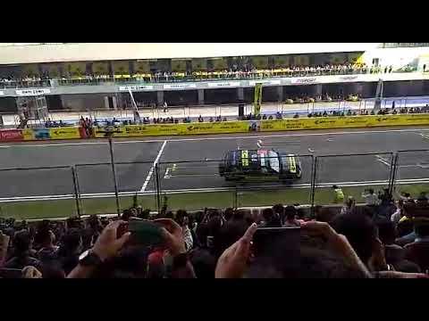 Car stunt in delhi