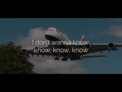 Maroon 5 (ft. Kendrick Lamar) - Don't Wanna Know (Lyric Video) (Official Audio)