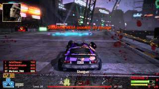[Twisted Metal / PS3] Deathmatch Online: 5 Minute Highlights - Kamikaze in Killosseum (1440p)