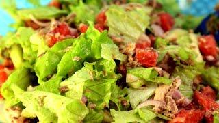 Быстро и вкусно | Салат для похудения, фруктово-овощной эксперимент