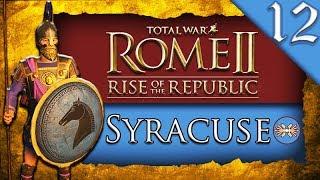 ROME MEGA ALLIANCE Total War ROME II Rise of the Republic Syracuse C aign Gameplay 12