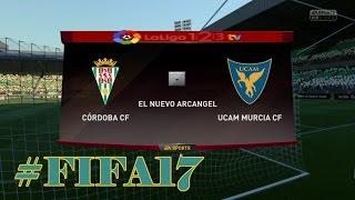 FIFA 17 Córdoba CF vs Ucam Murcia Liga 123 Jornada 2 (PS4)