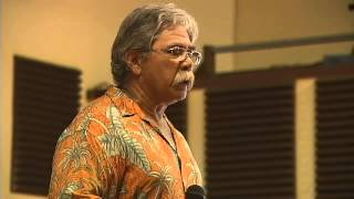 Palikapu Dedman delivers angry geothermal speech - Save Pohoiki in Pahoa