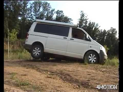volkswagen t5 transporter 4motion youtube. Black Bedroom Furniture Sets. Home Design Ideas