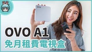 OVO限量版電視盒『OVO A1』開箱,正版內容免費看 簡單操作老少通吃