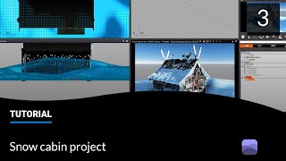 E-on software Tips and Tricks: Snow Material Layers - part 3