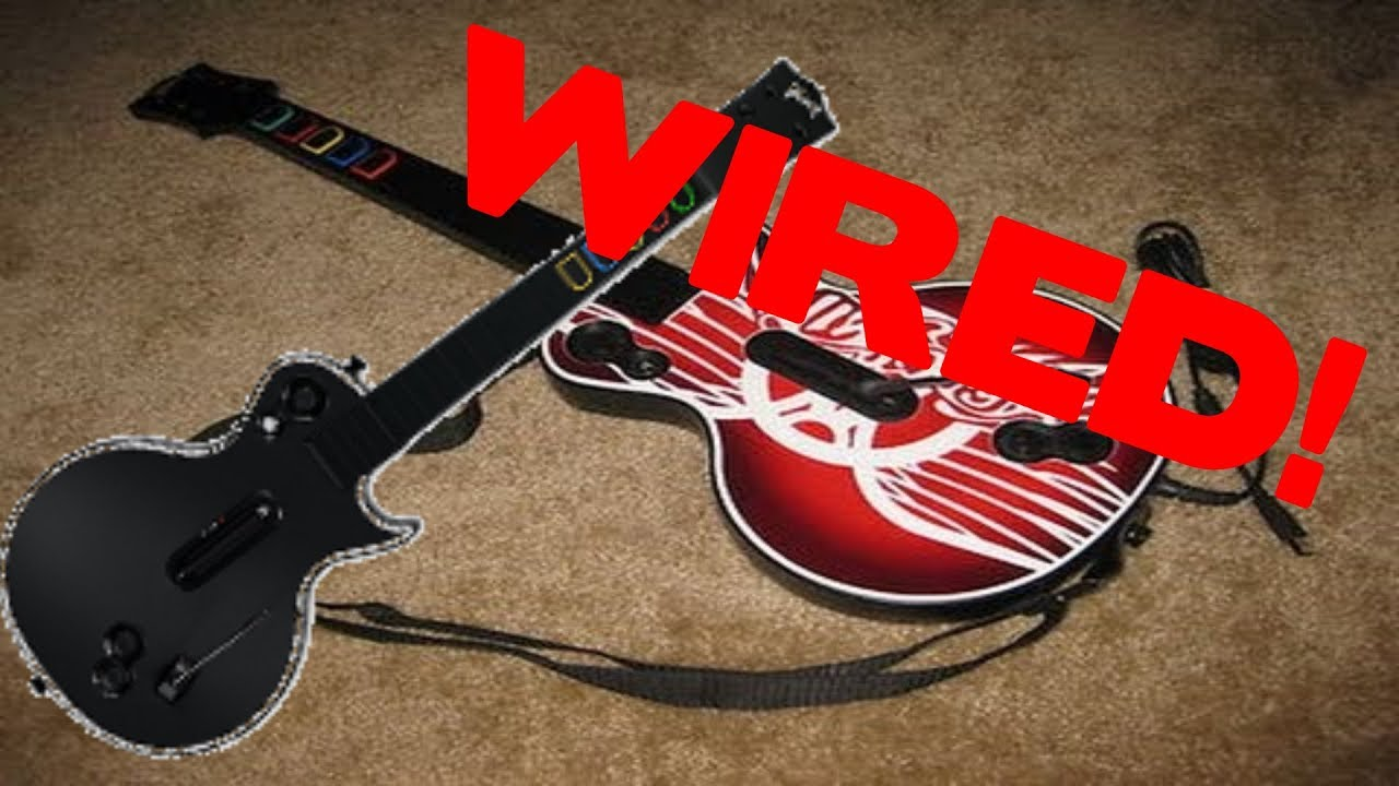 How to get a Guitar Hero Wired Les Paul