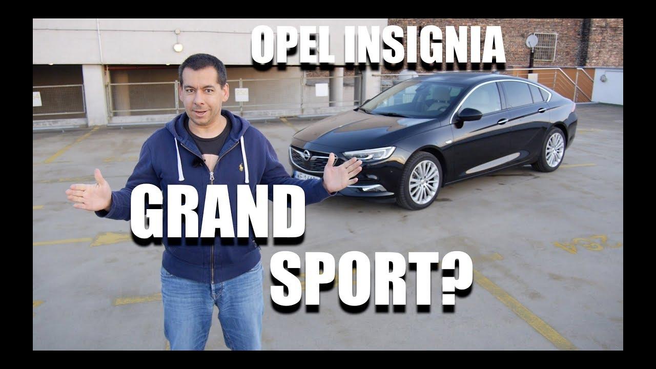 Opel Insignia Grand Sport 1.5 Turbo (PL) – test i jazda próbna
