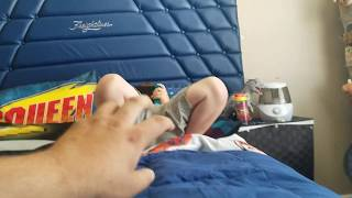 Kid gets scared by his dad and then kicks him! 😅🤣😅🤣