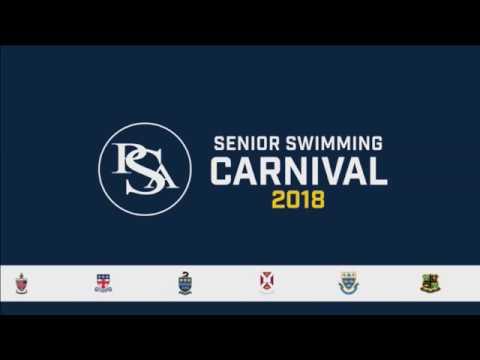 PSA Senior Swim Carnival 2018
