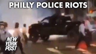 At least 30 Philly cops injured during riots over police shooting of Walter Wallace | New York Post