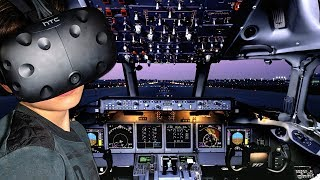 EERSTE VLIEGLES !! ✈️ X-Plane (VR)