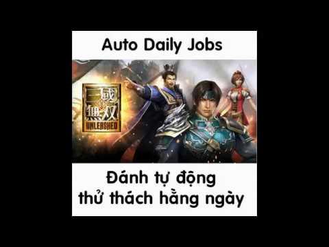 Dynasty Warriors: Unleashed | Auto daily jobs - Tự động đi thử thách hằng ngày