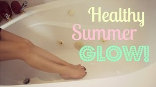 How To: Healthy Summer Glowing Skin! ♥ Thumbnail