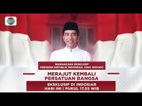 Lihat Wawancara Eksklusif Presiden Joko Widodo - Merajut Kembali Persatuan Bangsa Di Indosiar