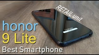 honor 9 Lite review RETAIL unit  (part 1) - Best Smartphone for Rs. 10,999