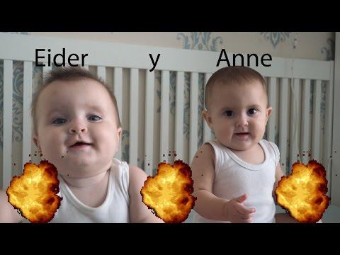 Eider y Anne: La súper recopilación (Bebes mellizas hablan de 7 meses) - Aimar REC