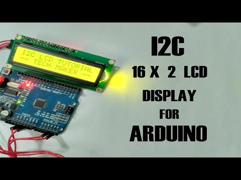 Arduino Lcd I2c Library Commands
